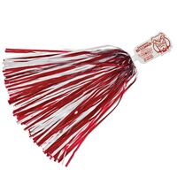 500-Streamer Pom Poms w/Mascot Handle - Bulldog