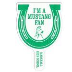 Horseshoe Shape Hand Fan