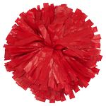1000-Streamer Plastic Cheer Pom Poms - One Solid Color