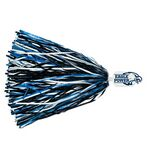 500-Streamer Pom Poms w/Mascot Handle - Eagle/ Hawk End