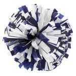 1000-Streamer Plastic Cheer Pom Poms - Mixed Colors