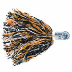 750-Streamer Pom Poms w/Mascot Handle - Spartan/ Indian/ Knight End