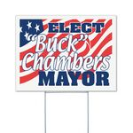 Corrugated Vinyl Yard Sign (18