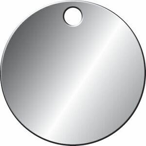 Stock Metal Blank Tags Aluminum (1 dia.)