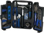 Custom 129 Pc. Deluxe Household Tool Set