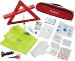 Custom 34 Piece Auto Safety First Aid Kit