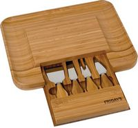 Bamboo Cheese Serving Set