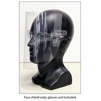 Face Shield for Glasses (SHIELD ONLY)