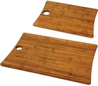 Woodland Bamboo Cutting Board Set