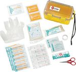 Custom 37 Pc Waterproof First Aid Box