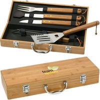 5 Piece Deluxe Bamboo Set