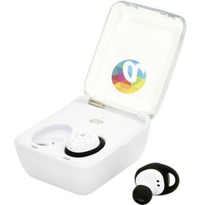 8a302927f3d Bluetooth® Wireless Earbuds with Charger Case - EL147 - Swag Brokers