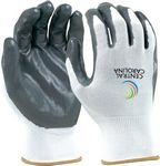 Custom Seamless Knit Glove - White
