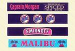 Custom Premium Quality Multi-Colored Custom Designed Bar Rail Mat (3.5