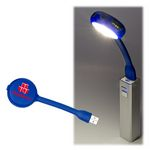 Custom USB Flex Light 4 Port USB Hub