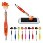 Custom MopToppers Screen Cleaner w/Stylus Pen