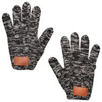 Custom Leeman Heathered Knit Gloves