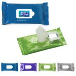 Custom Antibacterial Wet Wipes in Pouch
