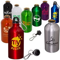 17 Oz. Aluminum Petite Bottle