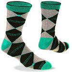 Custom Jacquard Socks