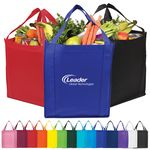 Custom Saturn Jumbo Non-Woven Grocery Tote