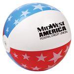 Custom USA Beach Ball (16