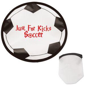 Custom Imprinted Soccer Sport Theme Folding Flyers!