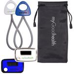 Custom Stride Pedometer & Stretch Band in a Pouch Combo