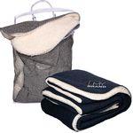 Custom Thick Needle Sherpa Blanket