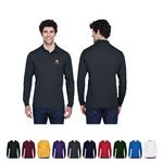 Core365® Men's Pinnacle Performance Long-Sleeve Piqué Polo Shirt