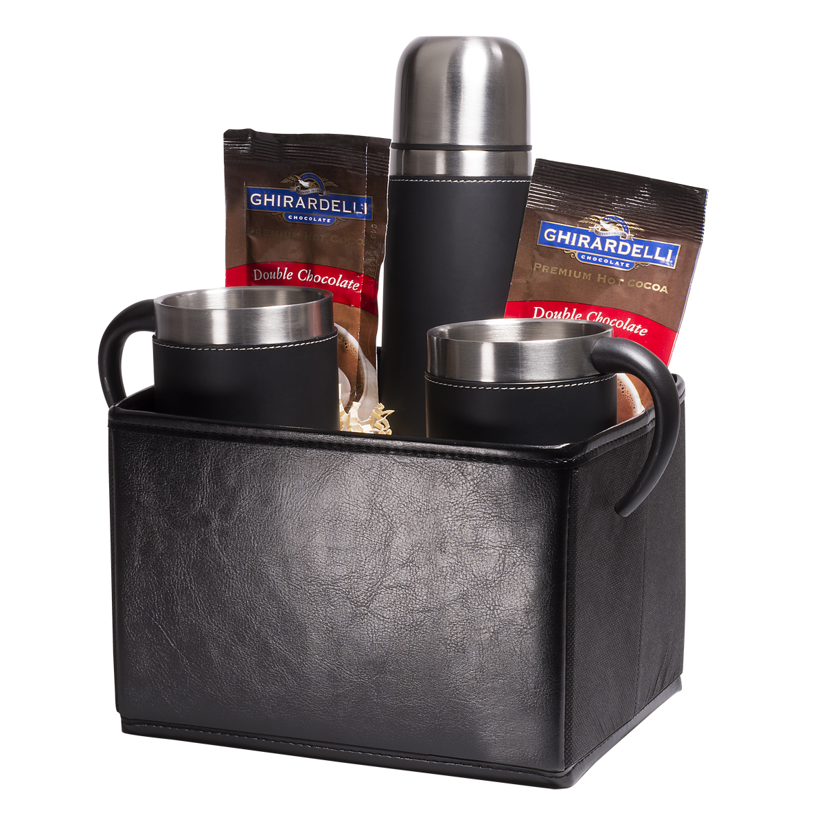 Tuscany™ Thermal Bottle & Cups Ghirardelli® Cocoa Set