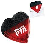 Custom Heart Magnetic Memo Clip