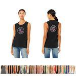 Custom Bella+Canvas Ladies' Flowy Scoop Muscle Tank