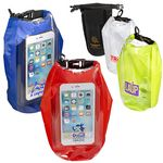 Custom 2L Water-Resistant Dry Bag w/Mobile Pocket