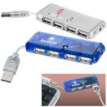 Custom Mini USB 4 Port Hub 1.1