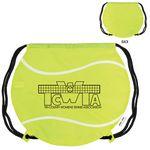 Custom GameTime! Tennis Ball Drawstring Backpack Bag