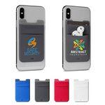Lycra® Dual Phone Pocket & Wireless Earbud Holder