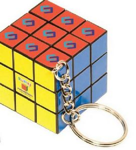 Micro Rubiks Cube Key Holder