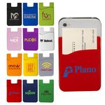 Custom Econo Silicone Cell Phone Pocket