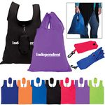 Custom Polyester Folding Grocery Tote Bag