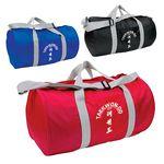 Custom Budget Barrel Duffel Bag