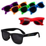 Custom Youth Single-Tone Matte Sunglasses