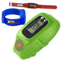 Digital Watch w/Pedometer