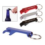 Custom Aluminum Bottle Opener Key Tag