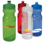 Custom 24 Oz. Big Squeeze Sport Bottle w/PP Lid