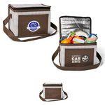Custom Delphine Non-Woven 6 Pack Cooler Bag