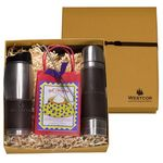 Custom Empire Tumbler & Thermos with Decadent Cocoa Gift Set