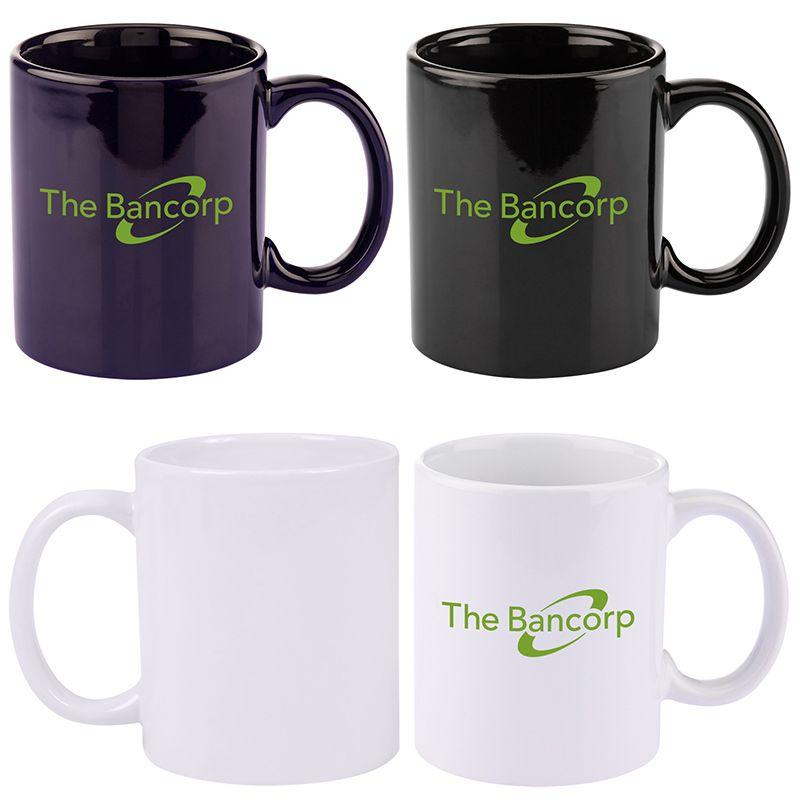 11 Oz. Basic C Handle Ceramic Mug