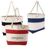 Custom Cotton Resort Tote Bag with Rope Handle