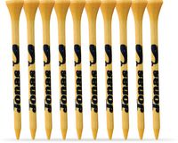 10 Pack of Bamboo Golf Tees